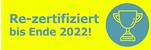 Re-zertifiziert bis Ende 2022.